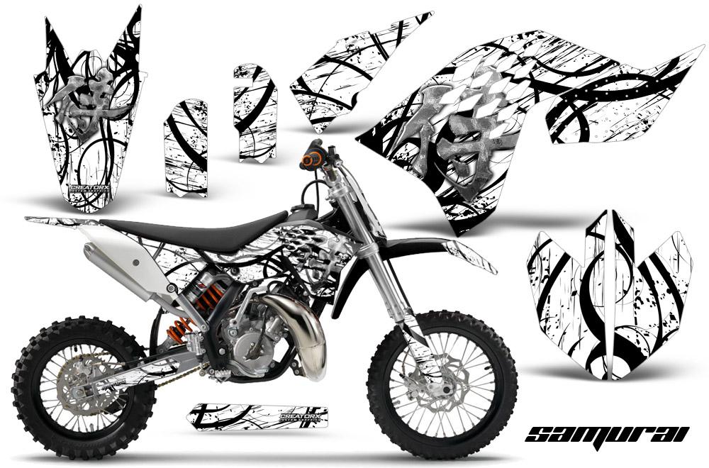 CREATORX GRAPHICS KIT FOR KTM SX65 SX 65 2009-2015 SAMURAI