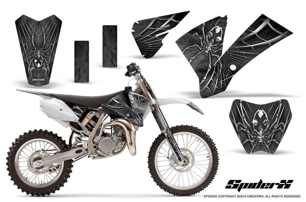 KTM SX85 SX105 2004-2005 GRAPHICS KIT CREATORX DECALS