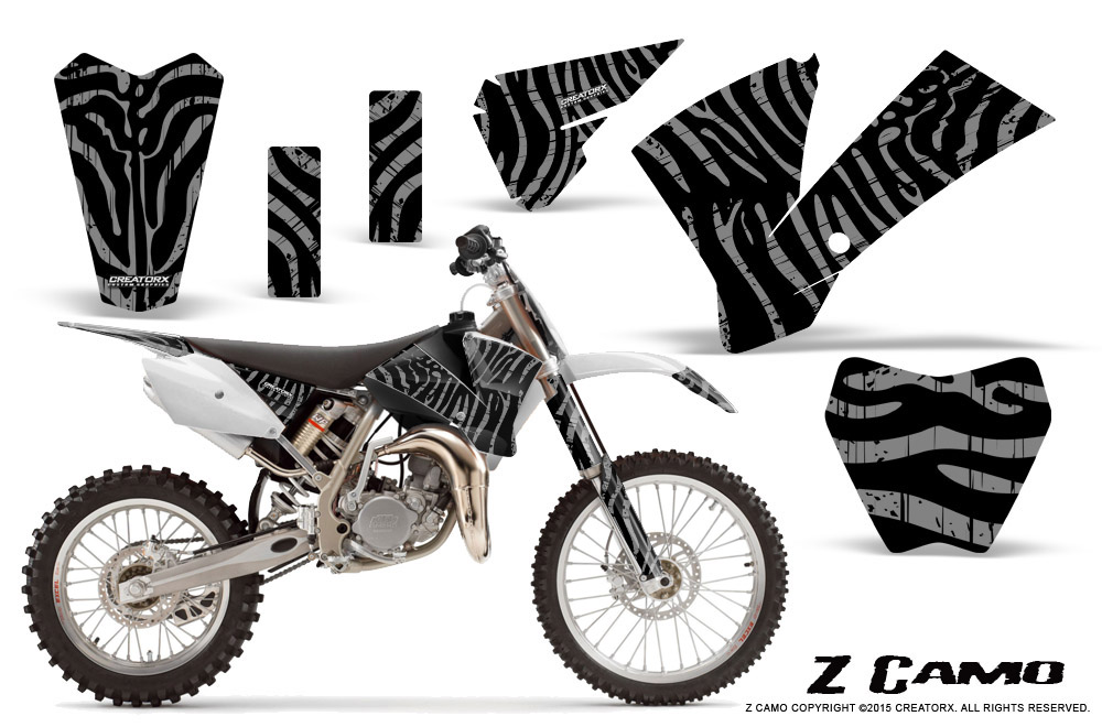 CREATORX GRAPHICS KIT FOR KTM SX85 SX105 2004-2005 ZCAMO S