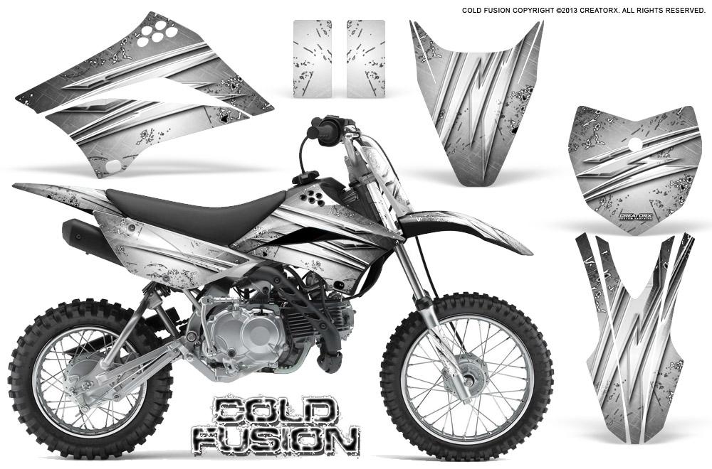 Kawasaki KLX110L KLX 110 L 2010-2017 Graphics Kit CREATORX
