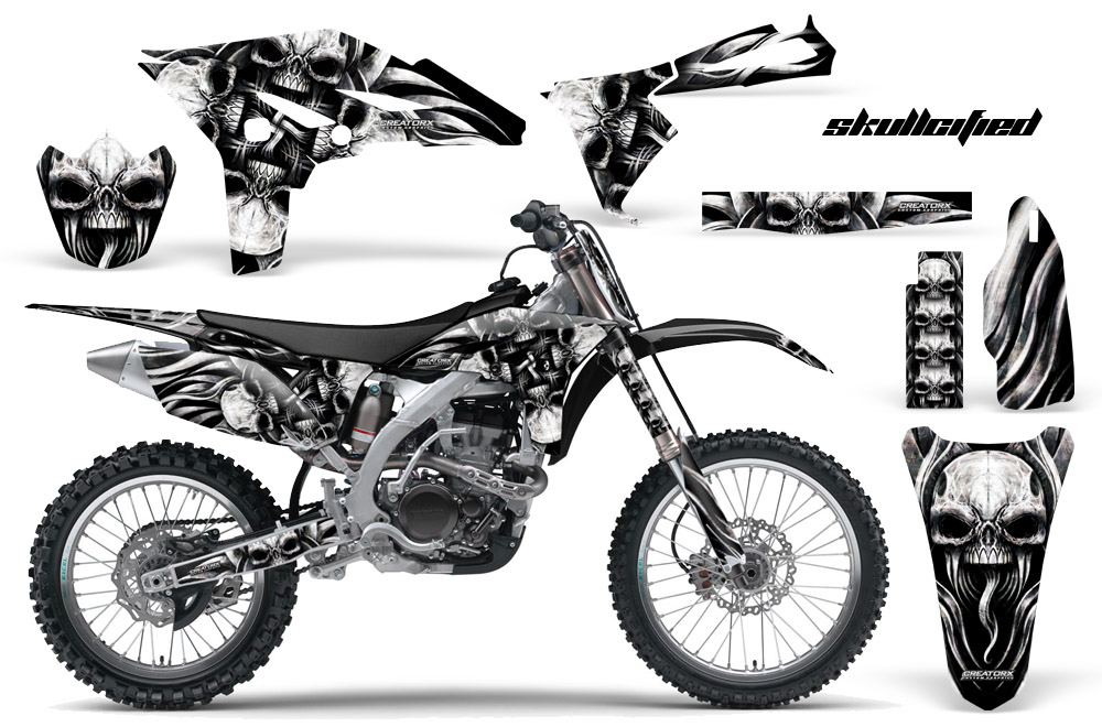 YAMAHA YZ250F 2010-2013 GRAPHICS KIT CREATORX DECALS