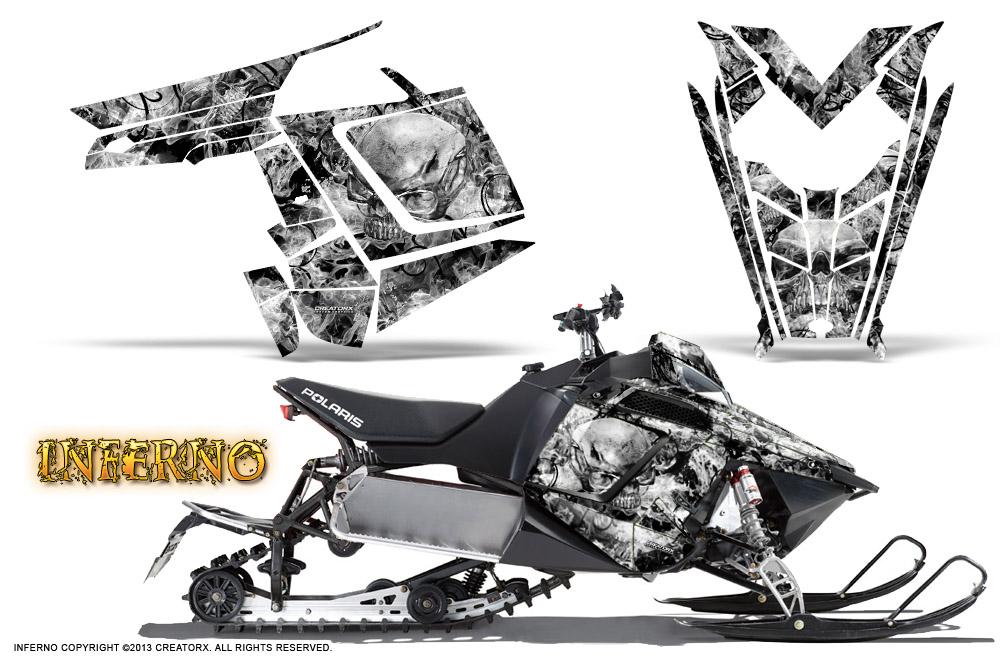 POLARIS RUSH PRO RMK 600/800 SLED SNOWMOBILE GRAPHICS KIT