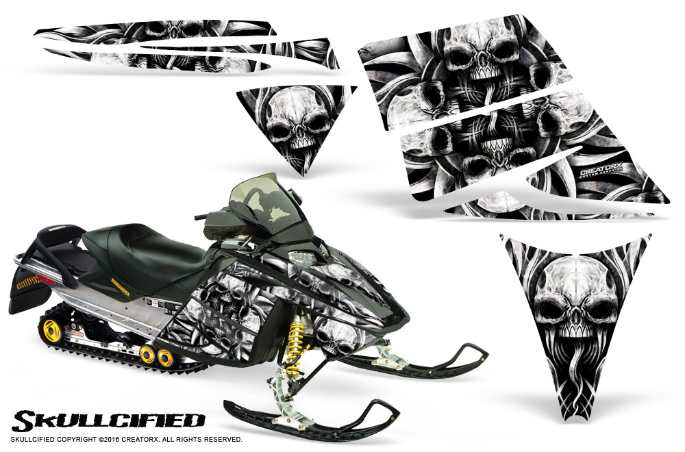 SKI-DOO REV MXZ 03-09 SNOWMOBILE SLED CREATORX GRAPHICS
