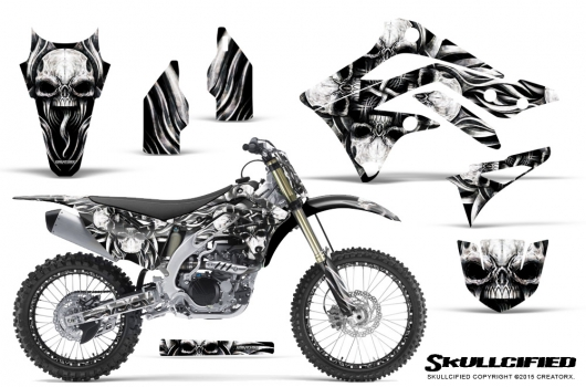 Kawasaki Dirt Bike Graphic Kits for KXF 450, KXF 450, KX