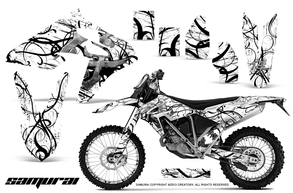 BMW G450X Dirt Bike Graphic Kits and Decals 2010-2011