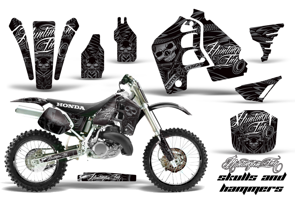 honda cr500 graphics kit 1989 2001