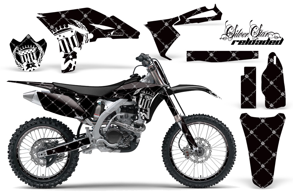Yamaha YZ250F 4 Stroke Graphics Kit 2010-2013