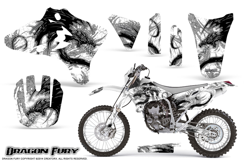 Yamaha YZ250F/YZ450F 4 Stroke Graphics Kit 2003-2005