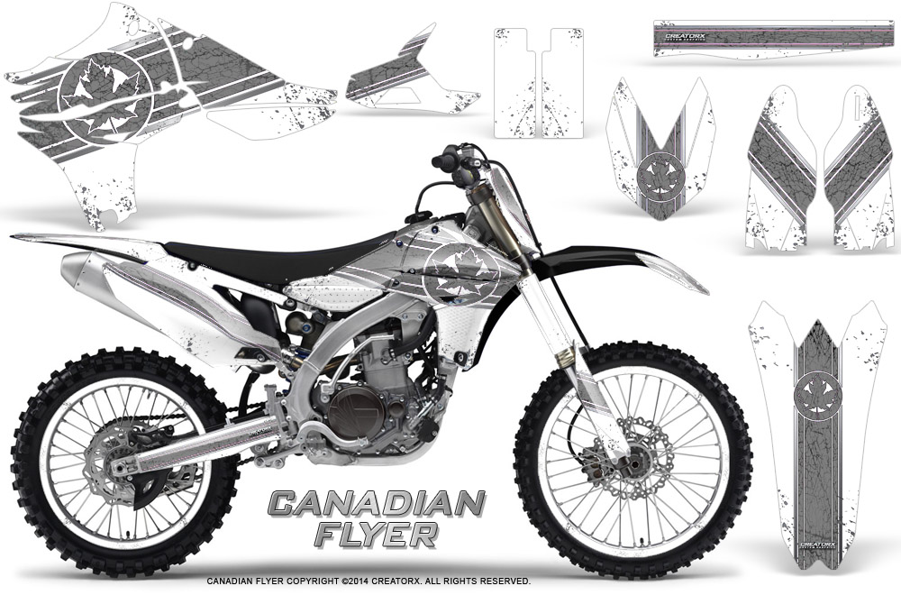 Yamaha YZ450F 4 Stroke 2010-2013 Graphics Kit