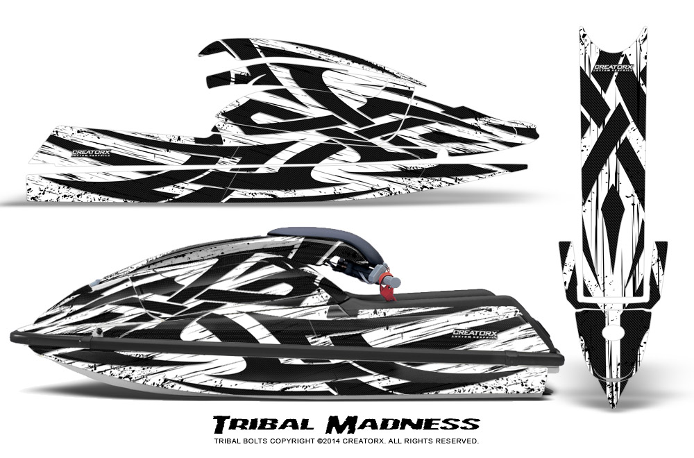 Kawasaki 750 SX SXR Jet Ski Graphics Kit 1992-1998