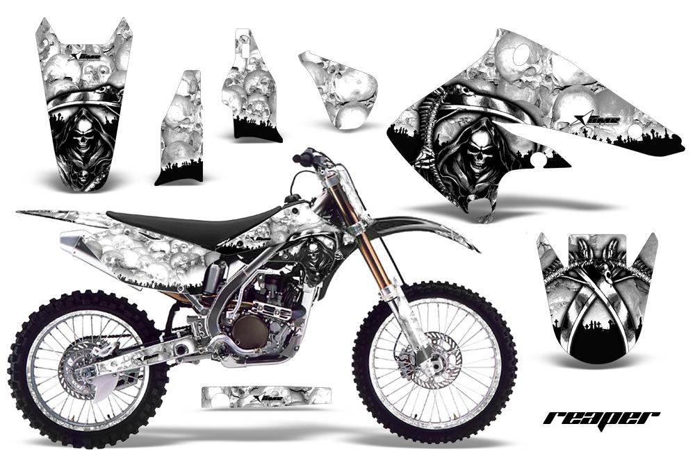 Kawasaki KX250F Graphics Kit 2004-2005