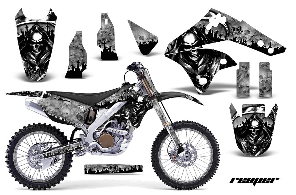 Kawasaki KX250F 2006-2008 Graphics Kit