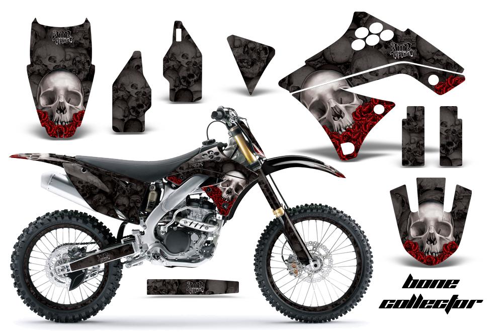 Kawasaki KX250F 2009-2012 Graphics Kit