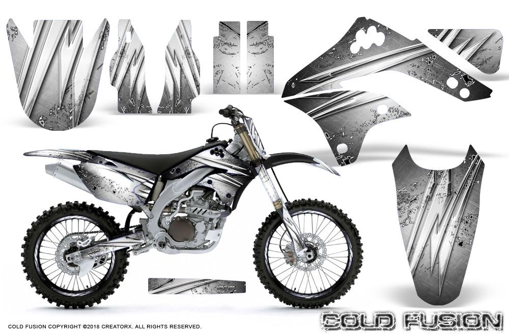 Kawasaki KX450F 2006-2008 Graphics Kit