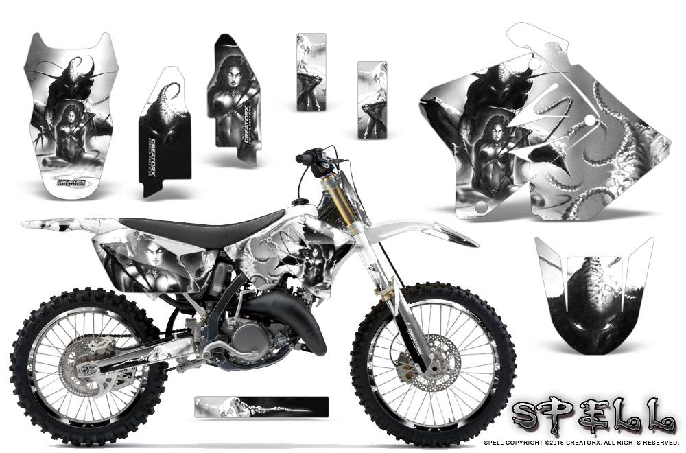 Suzuki RM 125 RM 250 2001-2009 Graphics Kit