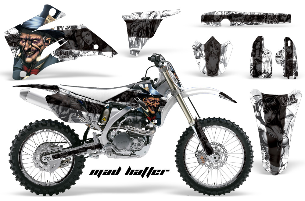 Yamaha MX Graphic Kit for yz250, yz450 f, wr450, wr250, yz125