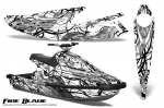 Yamaha Wave Blaster Jet Ski Graphics Kit 1993-1996