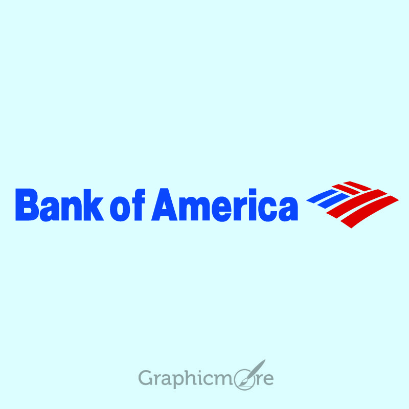 Bank of America Logo Design  Download Free PSD and Vector