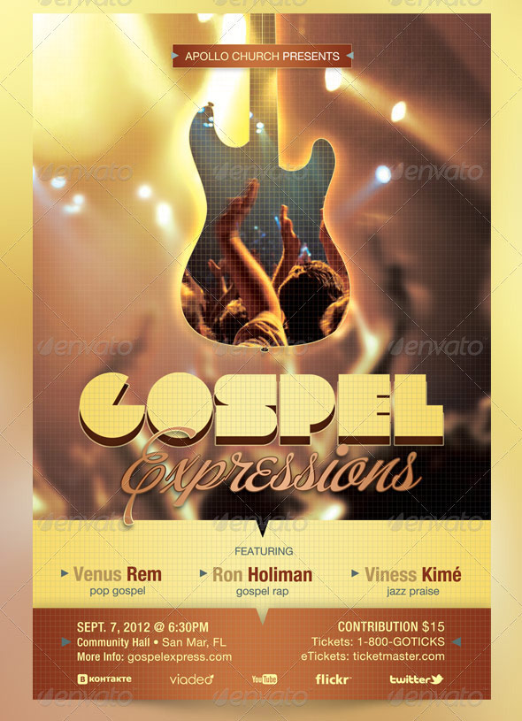 gospel-expressions church Flyer