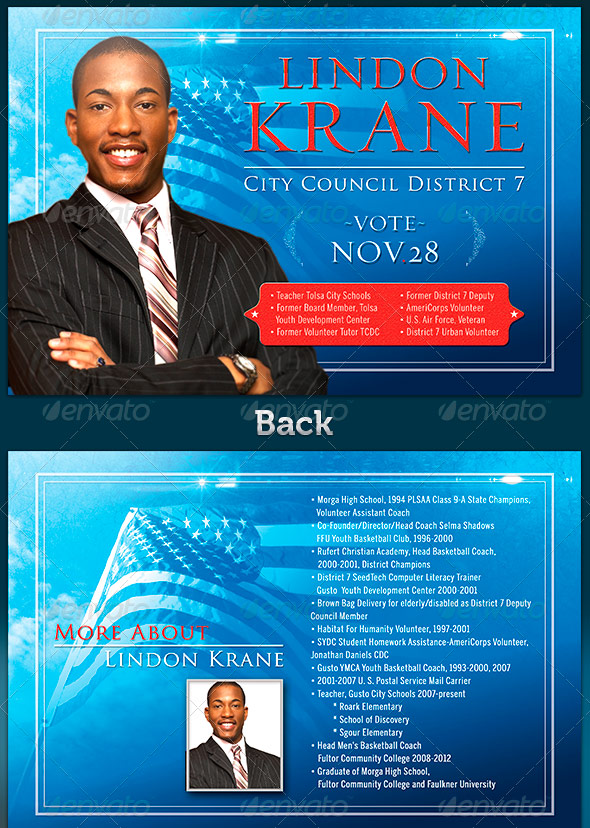 political flyer template free 28 images election brochure