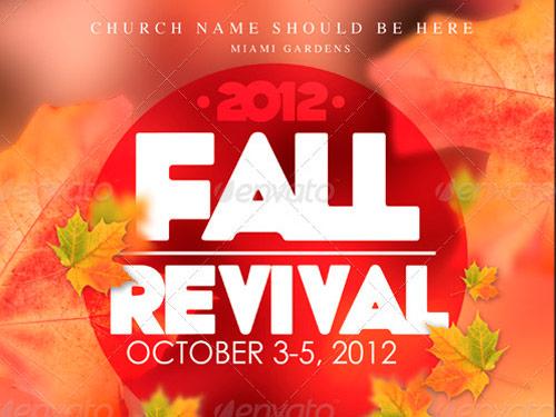 10 fantastic church revival flyer templates