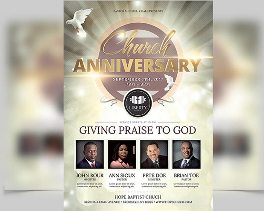Church Anniversary Flyer2