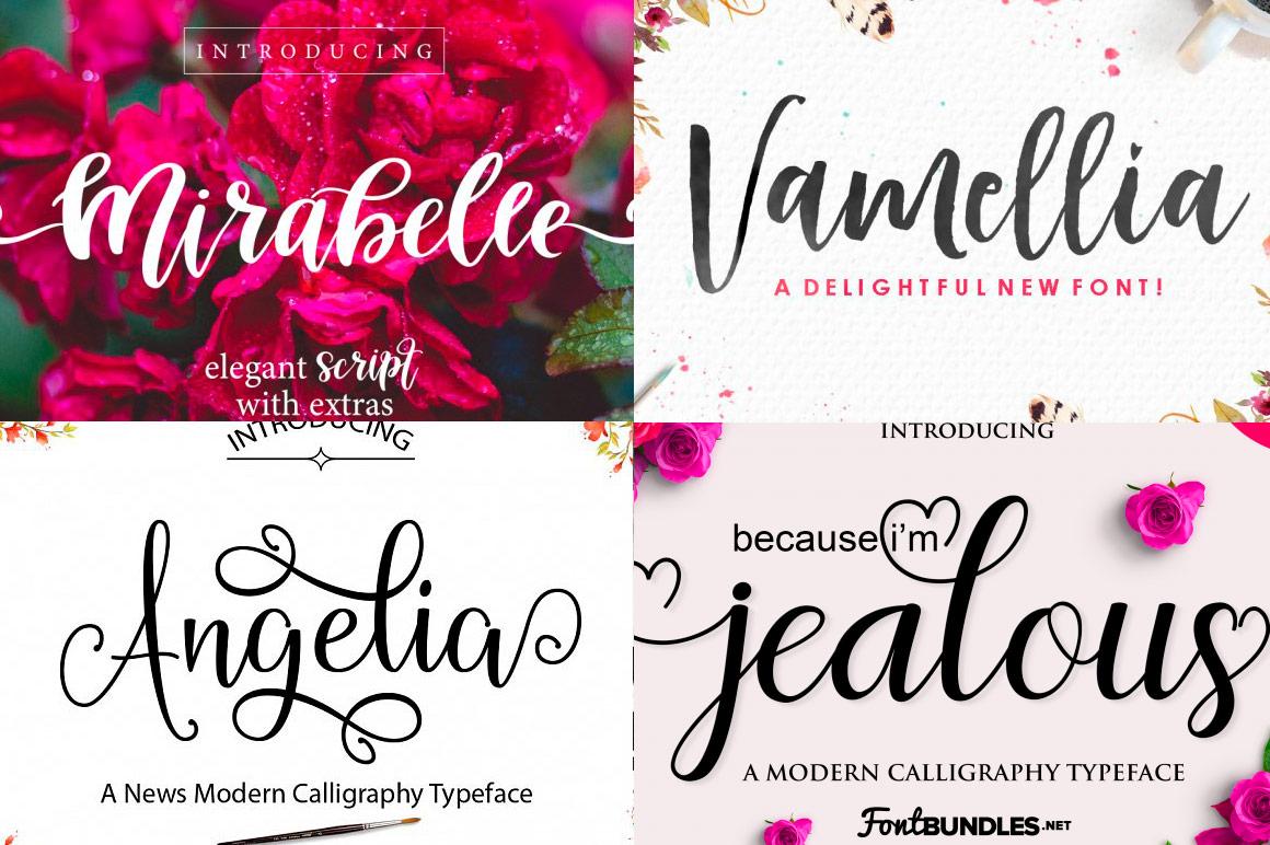 15 Beautiful Fonts