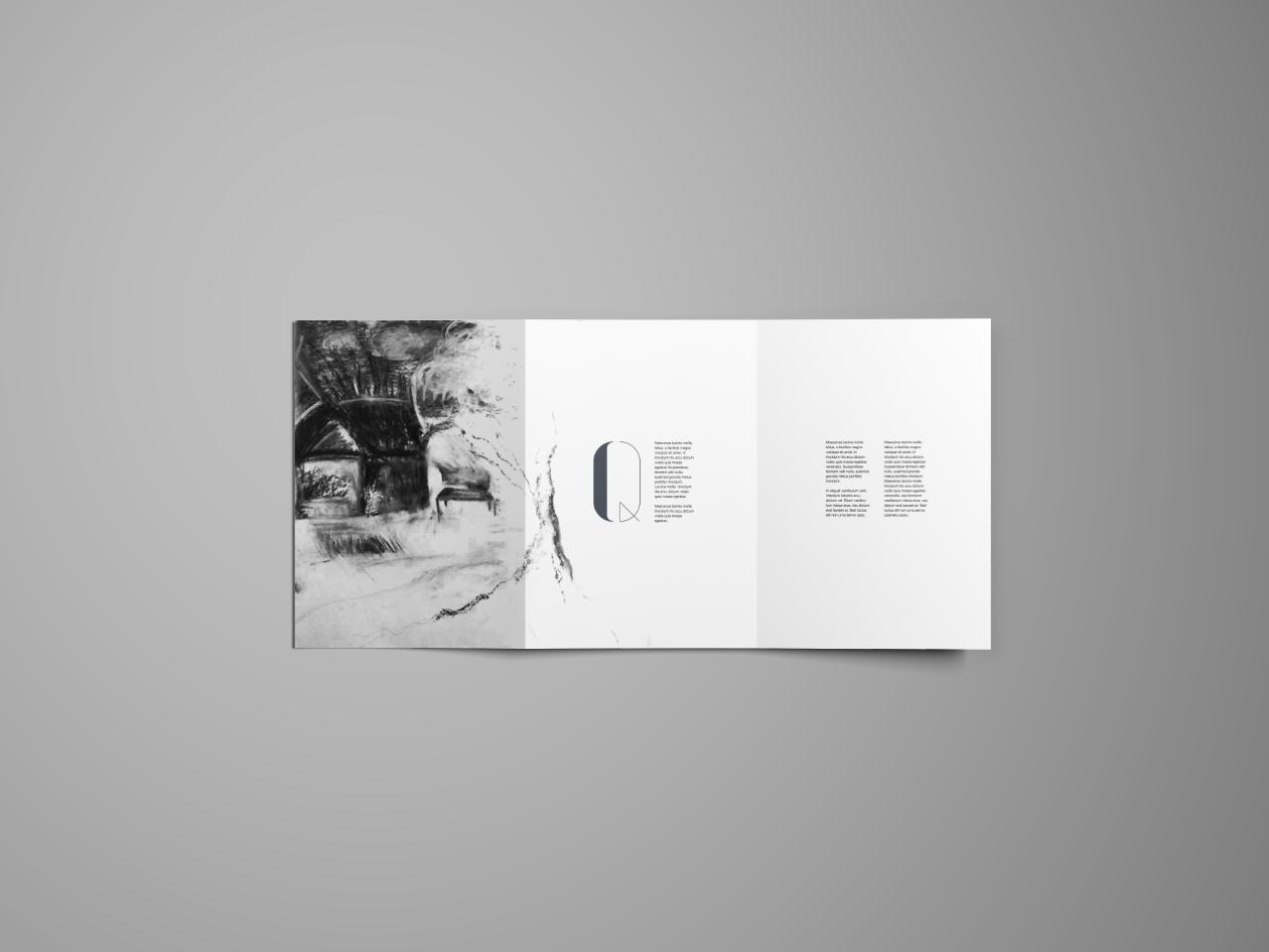 Smart TriFold Brochure Mockup  Photoshop