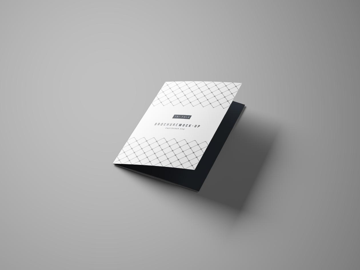 Smart Tri Fold Brochure Mockup Photoshop