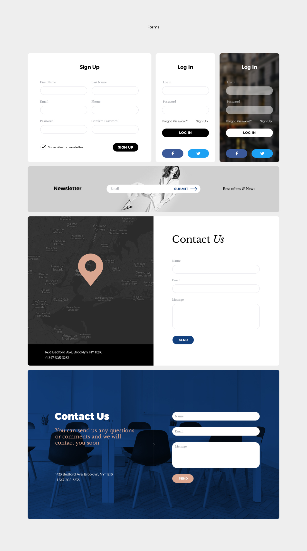Grace Multi Purpose Ui Kit