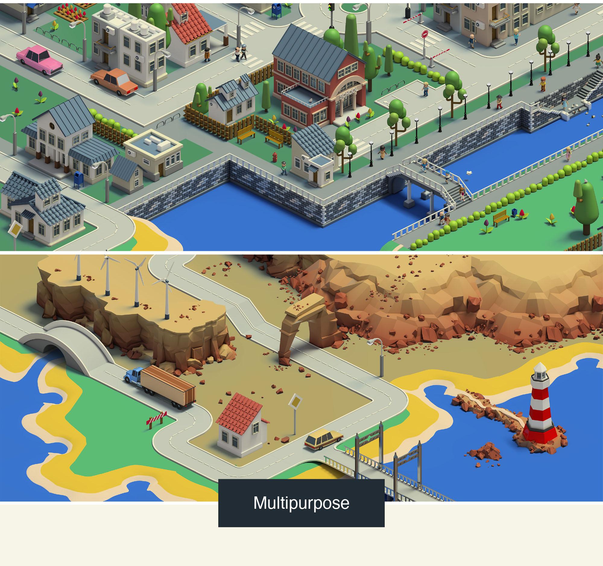 Mapita Isometric 3D Map Builder