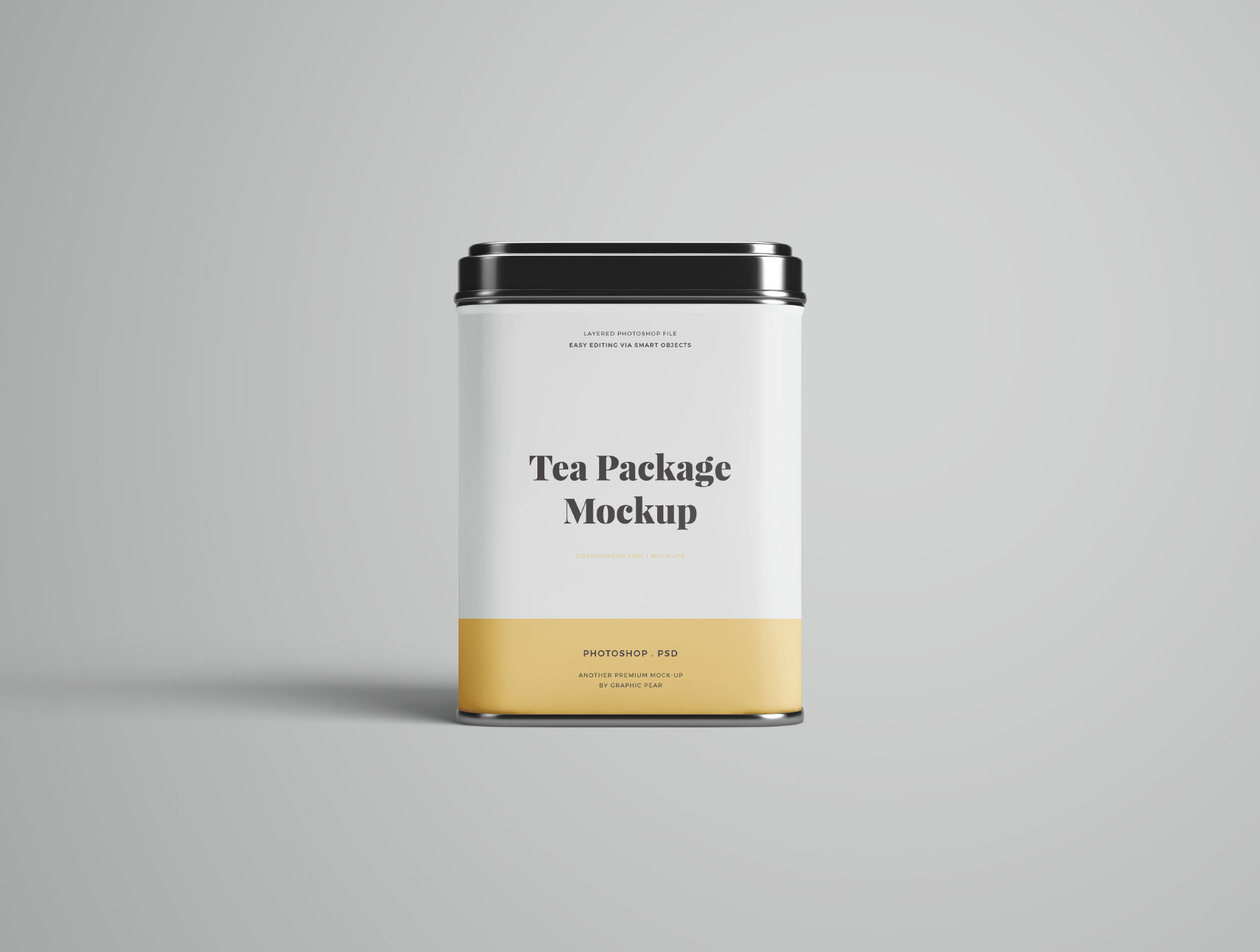 Tea Package Mockup