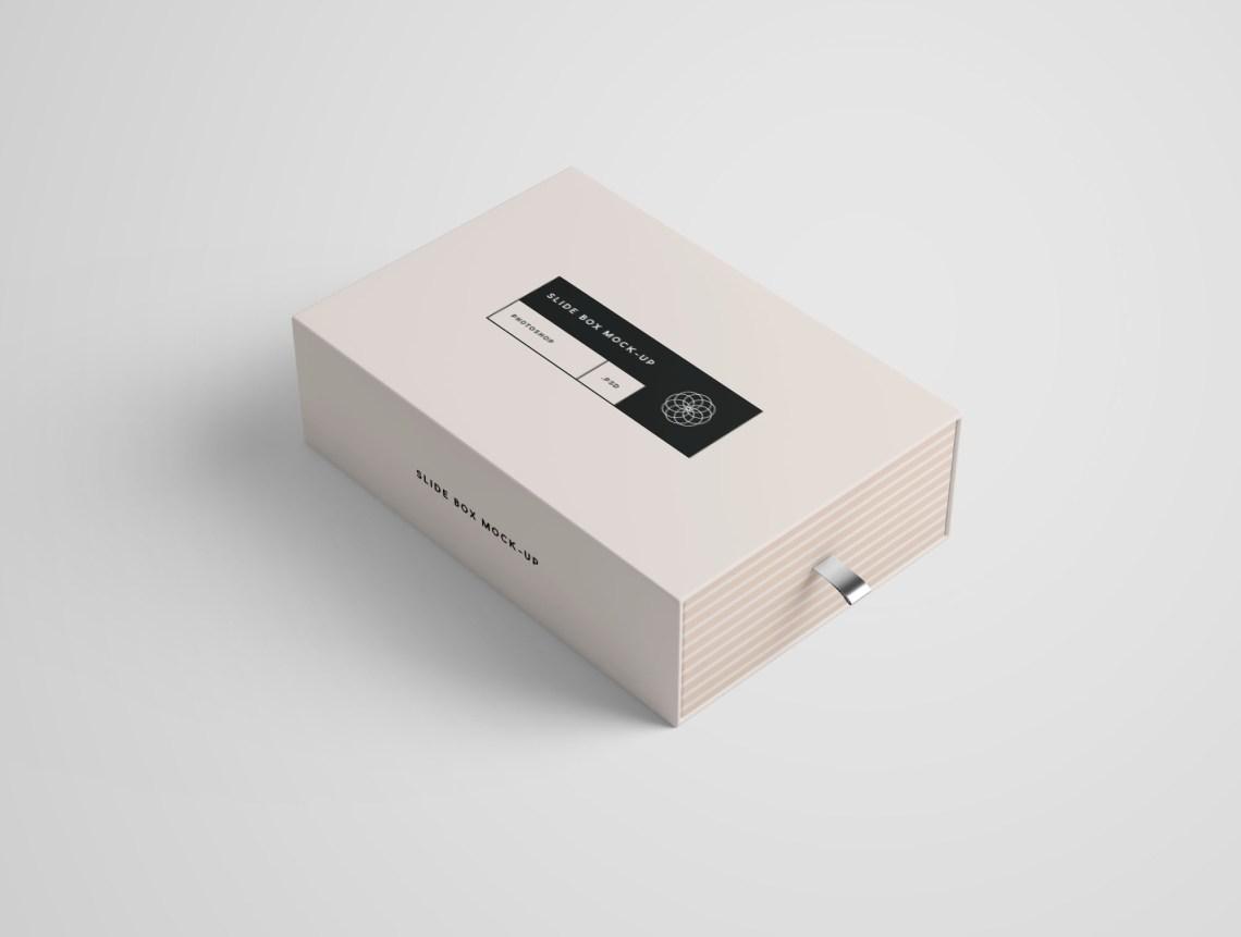 Download Rectangle Slide Box Mockup