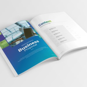 14 Pages Professional Company Profile Template