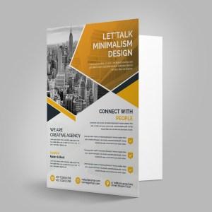 Clean Presentation Folder Template