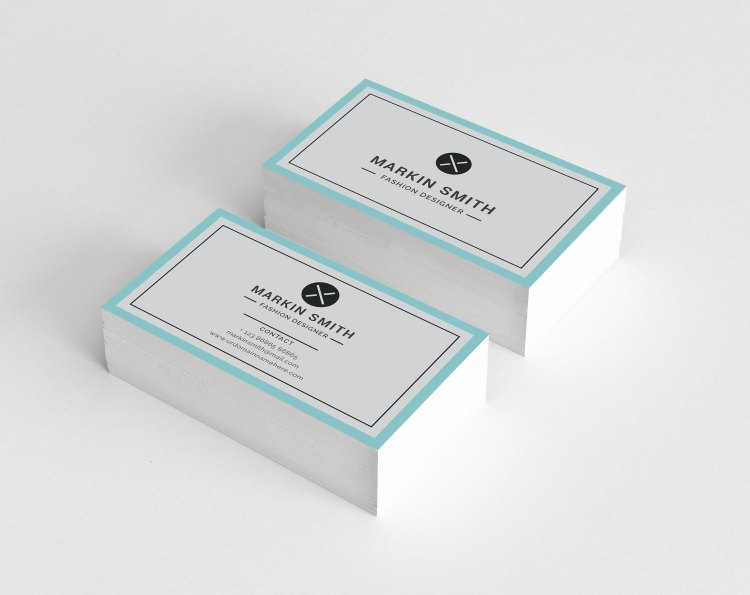 Plain Visiting Card Templates