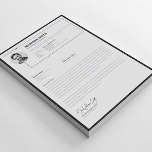 A4 Stylish Resume Design Template