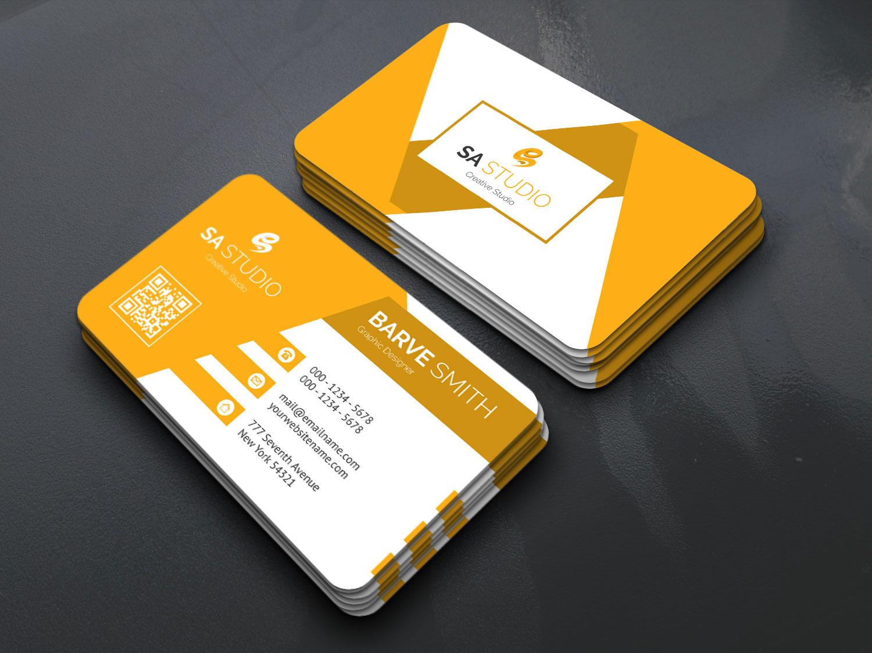 eps geometric name card templates  graphic prime