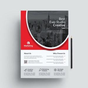 Stylish PSD Flyer Poster