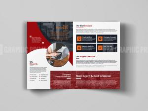 A4 Bi-Fold Brochure Template