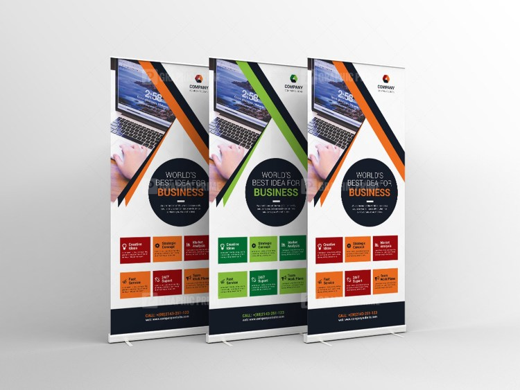 Multipurpose Roll-Up Banner