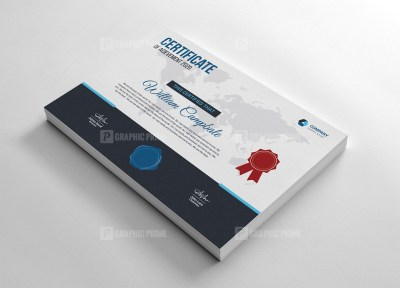 Finance Certificate Template