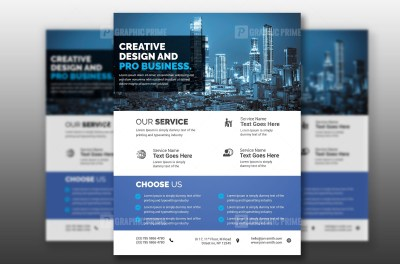 PSD Technology Flyer Template
