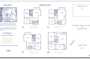 apartment brochure