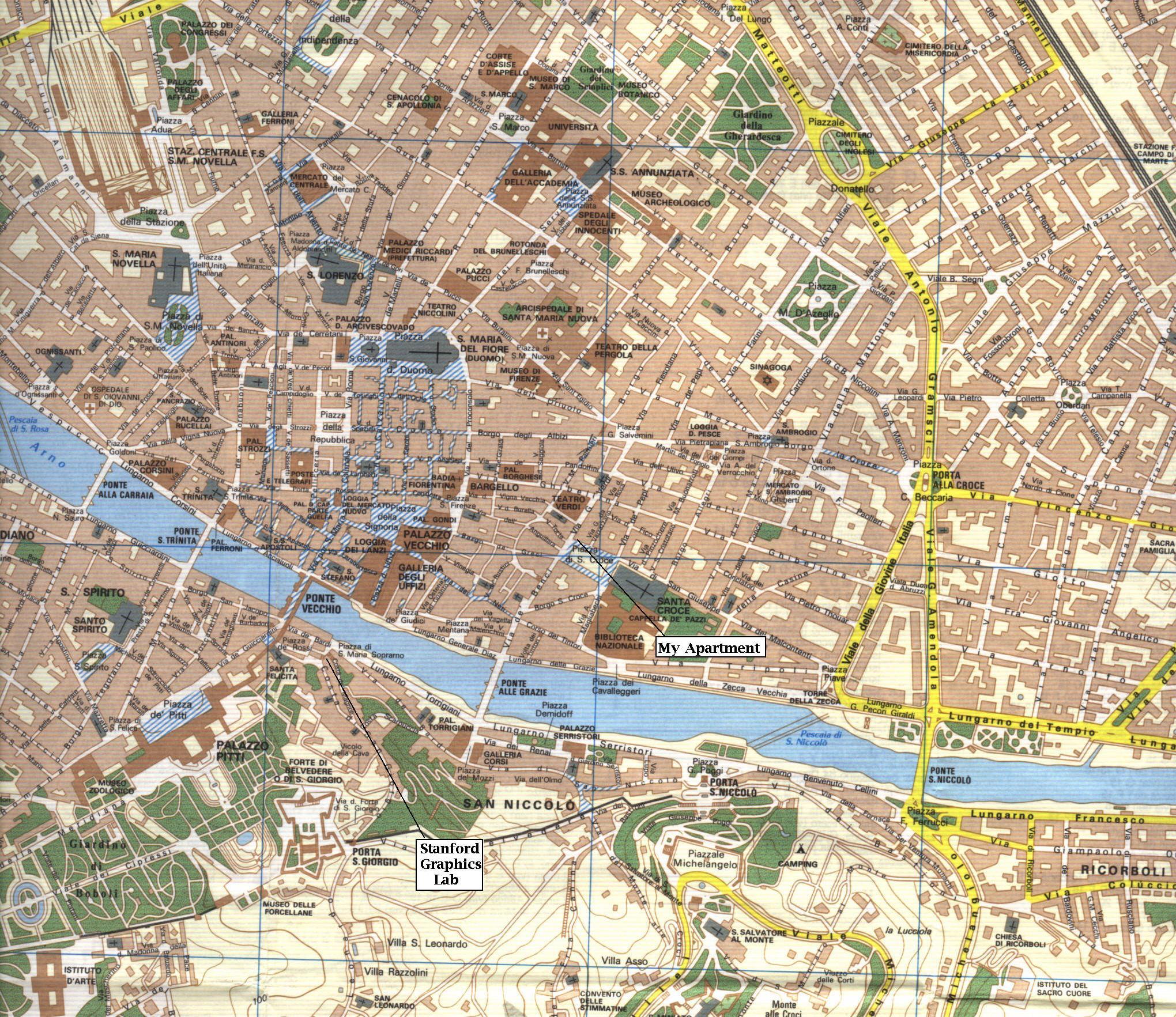 Map of Florence - Lucas Pereira