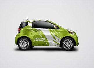 Electric-Car-mockup