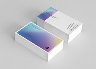 Holo Business Card Template