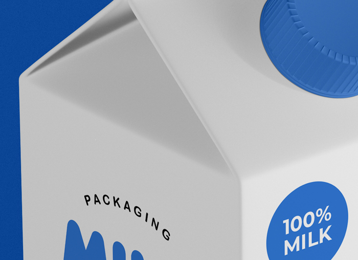 002-Milk Packaging Psd Mockup Vol1