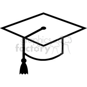 Royalty-Free Royalty Free Mortarboard Graduation Cap