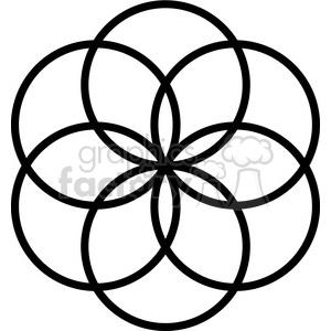 Royalty-Free flower symbol 004 384874 vector clip art